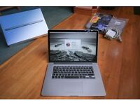 """MACBOOK PRO 15.4"""" i7 Retina * 256ssd hard drive * Excellent Condition - Brand new Carry Case"""