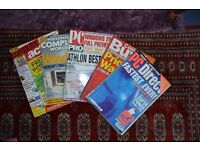 5 x PC and Computer Magazine 1999 and 2000