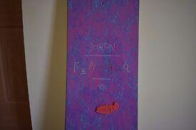 Burton snowboard (womens)