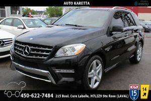 2012 Mercedes-Benz M-Class ML350 4MATIC/AWD, PANORAMIC, NAVI, CA