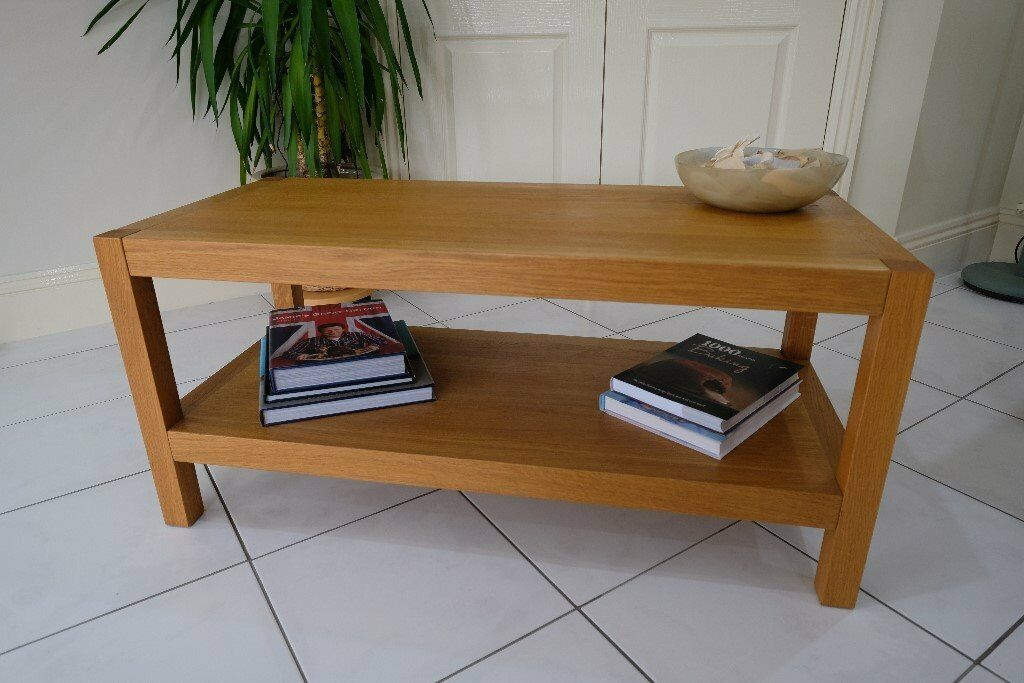 Brompton Oak Coffee Table By Laura Ashley