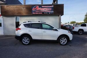 2013 Toyota RAV4 Limited AWD CUIR/TOIT/GPS SEULEMENT 73 900KM