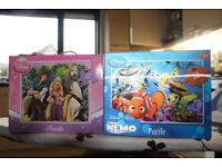 Disney Store Tangled and Finding Nemo Jigsaws