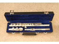 Yamaha 211S Silver plated Flute in excellent playing order