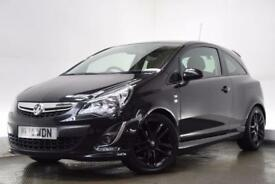 VAUXHALL CORSA 1.2 LIMITED EDITION 3d 83 BHP (black) 2014
