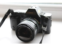 Canon T70 SLR Camera + Lots of extras!