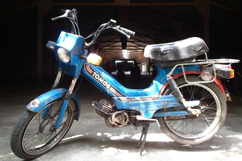 Tomos A3 M // Blue // Vintage Classic Moped Scooter // Barn Find | in  Devizes, Wiltshire | Gumtree