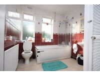 A spacious double room in a clean, friendly house share, close to zone 2 station and shops
