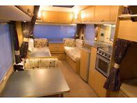 Sprite Quattro 2007 6 BerthTouring Caravan with Awning / Motor Mover