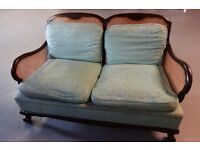 Antique Designer Settee (Two setter Turquiose Colour cushions) 07772708162 text