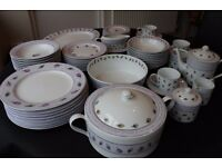 Marks and Spencers Leaves and Berries dinner service/ tea set