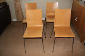 Kitchen / living room / office chairs x 4