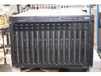IBM BladeCenter E + 14x HS20 Server Blades