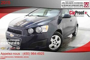2015 CHEVROLET SONIC LS *CLIMATISATION*