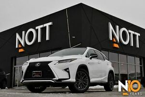 2017 Lexus RX 350 F-SPORT, SERIES 3, Nav, Pano, 15KMS, LOADED!!!