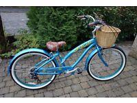 Ladies Nirve Sunflower Beach Cruiser Bike