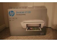 HP Deskjet 2130 Brand New In Box With Ink