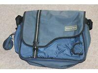 Mamas and Papas Blue Changing Bag