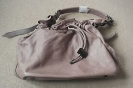 ( New and Unused ) Genuine Burberry Drawstring Bucket Bag with adjustable strap