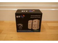BT Broadband Extender Flex Kit 600 Kit - pass-through powerline network, works with all providers