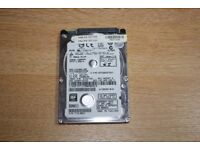 "Laptop Hard Drive 320GB 2.5"" 7mm"