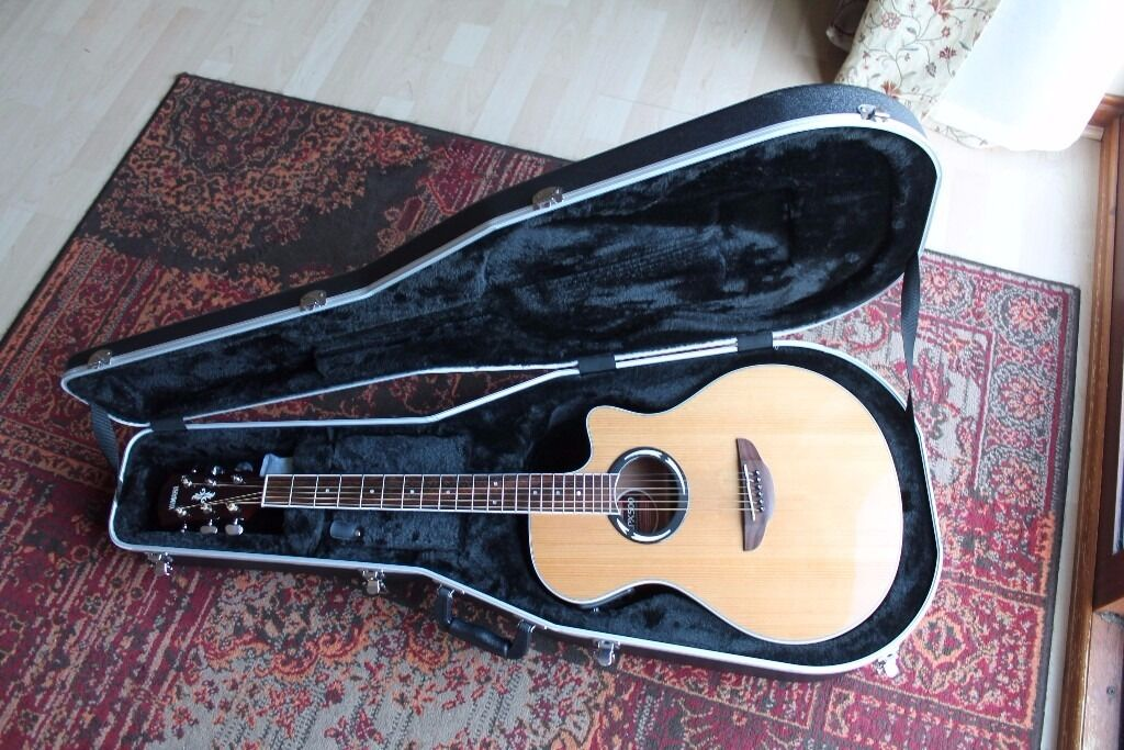 yamaha apx500. yamaha apx500 electro acoustic guitar with hard case apx500 n