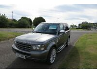 Land Rover Range Rover Sport 2.7TD V6 auto 2007,222Alloys,Black Leather,Privacy