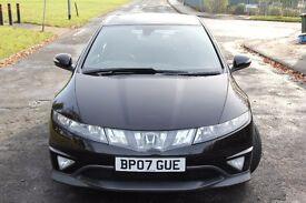 Honda Civic 1.8 i VTEC Type S GT GT 3dr (06 - 09) 12 Month MOT + Panoramic Roof + FSH