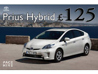 Prius Hire UBER, TOYOTA PCO Car with Insurance - PCO HIRE Uber READY, 2015 and 2017 Plate new car