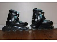 Roller Blades and Accessories. (Size 6)