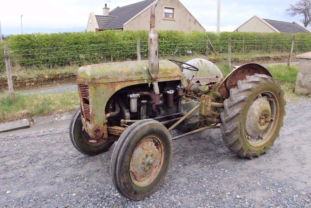 T20 Ferguson Tractor : Ferguson p t massey in