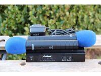 ProSound VHF Twin Handheld Radio Mic Kit