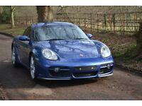 2006 Porsche Cayman S 3.4 Manual Cobalt Blue PCM PSM