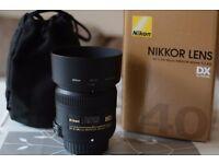 40mm F2.8G AF-S Nikon Nikkor