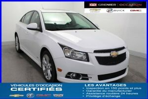 2014 Chevrolet CRUZE 2LT RS Turbo *TOIT JUPES AILERONS CUIR*