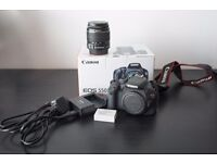 Canon 550D in new condition.