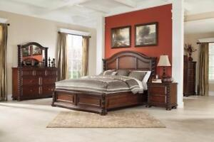 SOLID WOOD BEDROOM SET SALE AJAX BLACK FRIDAY - FREE SHIPPING | CALL -905-451-8999 (BF-6)