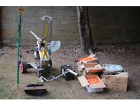 Acorn AutoClay 65 clay pigeon trap with upgrades and accessories