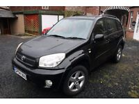 TOYOTA RAV4 VVTi (Auto) - 2004 Reg - Very Low Mileage - Black - 1998cc