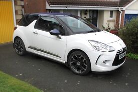 Citreon DS3 DSTYLE+ 1.6 CABRIO (Convertable) - Low Mileage - Full Dealer Service history