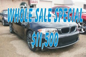 2008 BMW 1 Series 3.0 L Convertible, Leather,Alloys,