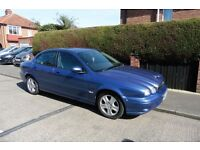 JAGUAR X TYPE CLASSIC D 4 DOOR DIESEL 2 LITRE METALLIC BLUE TESTED UNTIL NOVEMBER TWO KEYS
