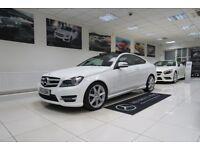 MERCEDES-BENZ C CLASS 2.1 C250 CDI AMG Sport Edition (Premium Plus) 7G-Tronic Plus 2dr Auto 2014