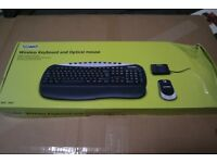 Technika wireless keyboard and mouse. Only £8