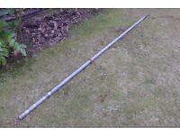 Scaffolding pole, 10 feet x 1.5 inches