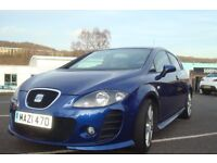 STUNING LEON RARE COLOUR FULL BTCC 12 MONTH MOT SERVICED PRICE DROP TO SELL AT £4500 MUST BE SEEN