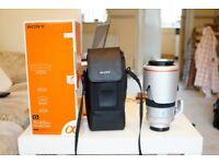Sony 70-400mm F4-5.6 G SSM Lens.