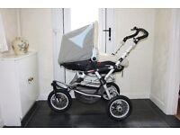 Jane Powertrack 360 Combination pram / stroller for sale.