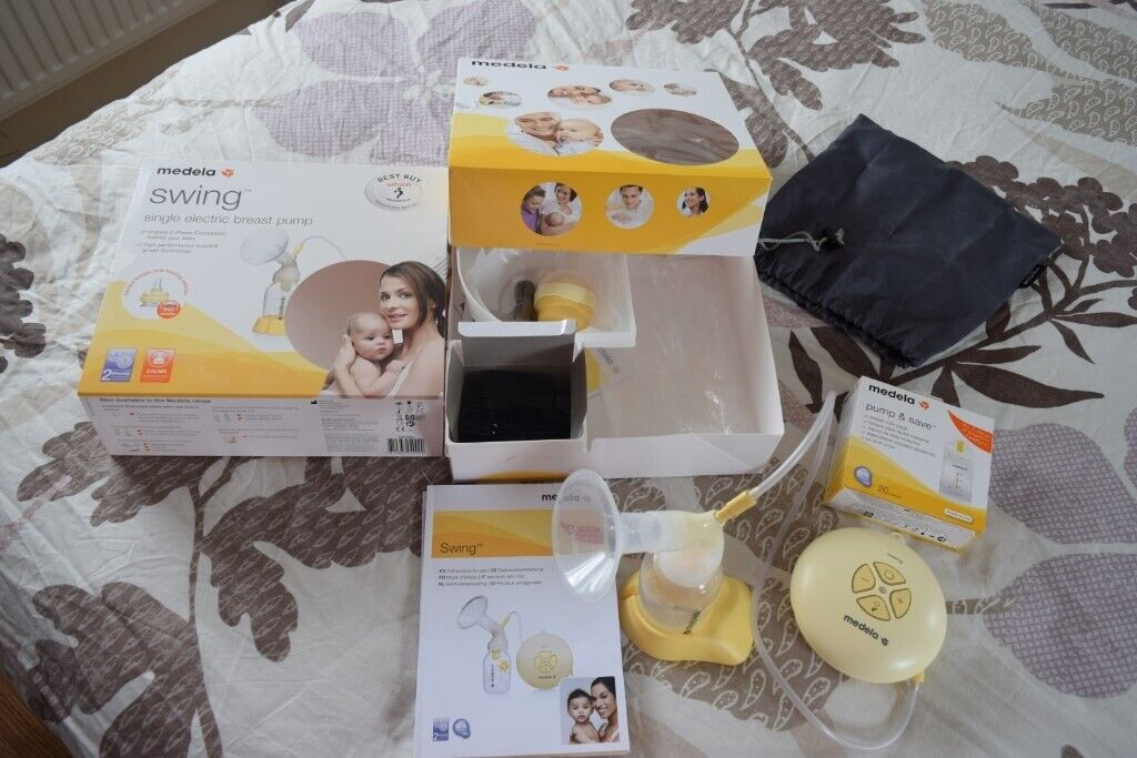 Medela Swing Single Electric Breast Pump With Calma Teat In