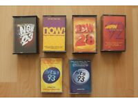 Now That's What I Call Music 4x Double Cassette Tape 19, 23 28 & Now Dance 92 Cassette Tapes